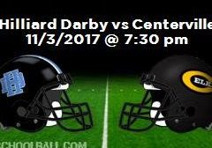 2017 Postseason Week 1 vs. Hilliard Darby