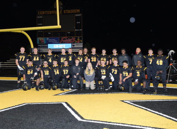Centerville Football End of Season Award Winners